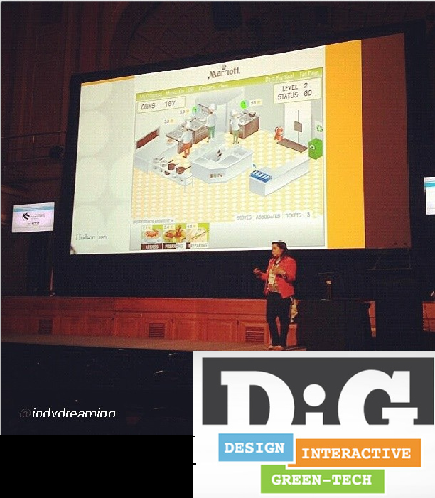 Suzanne Chadwick on stage at DiG Festival Newcastle 2013